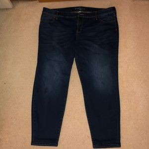 Denim - Boutique + Skinny Ankle Jeans
